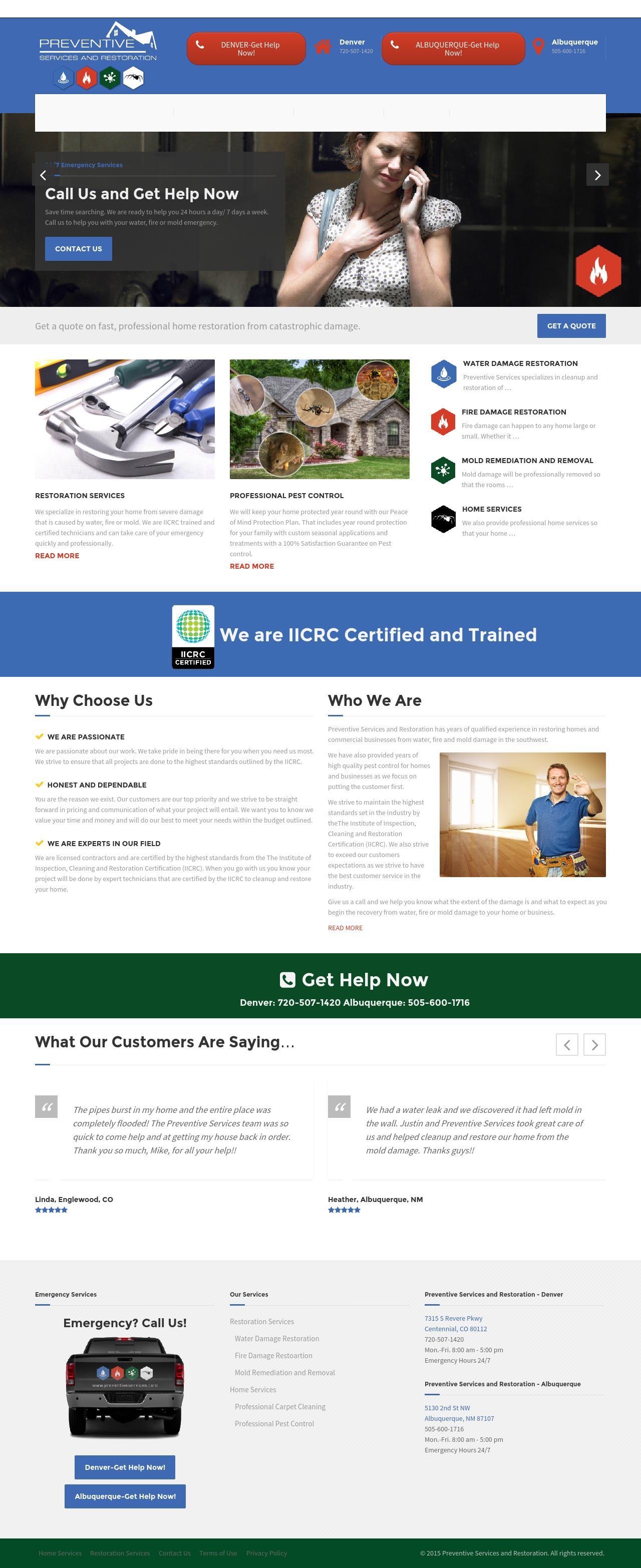 Preventive Services Home Page
