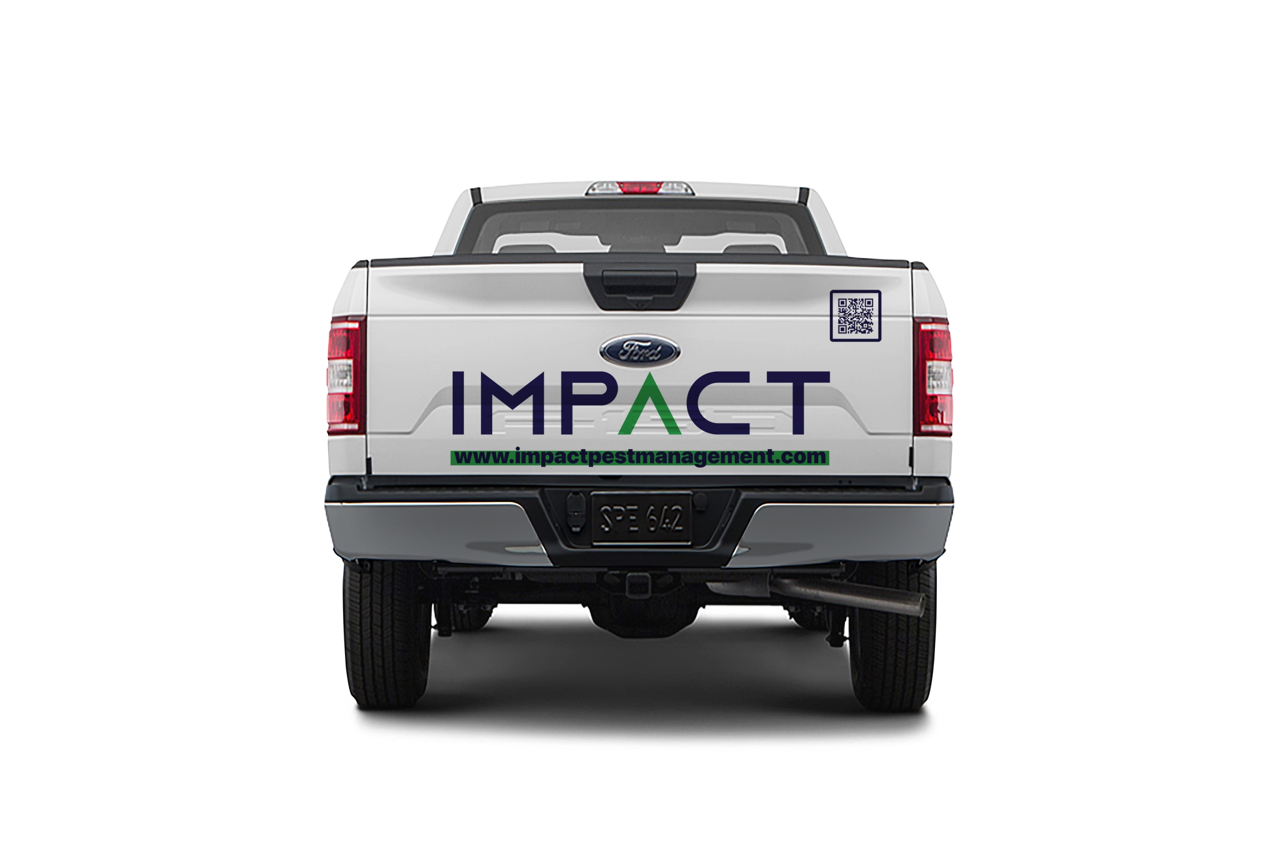 Impact Pest Management Ford F-150 Back