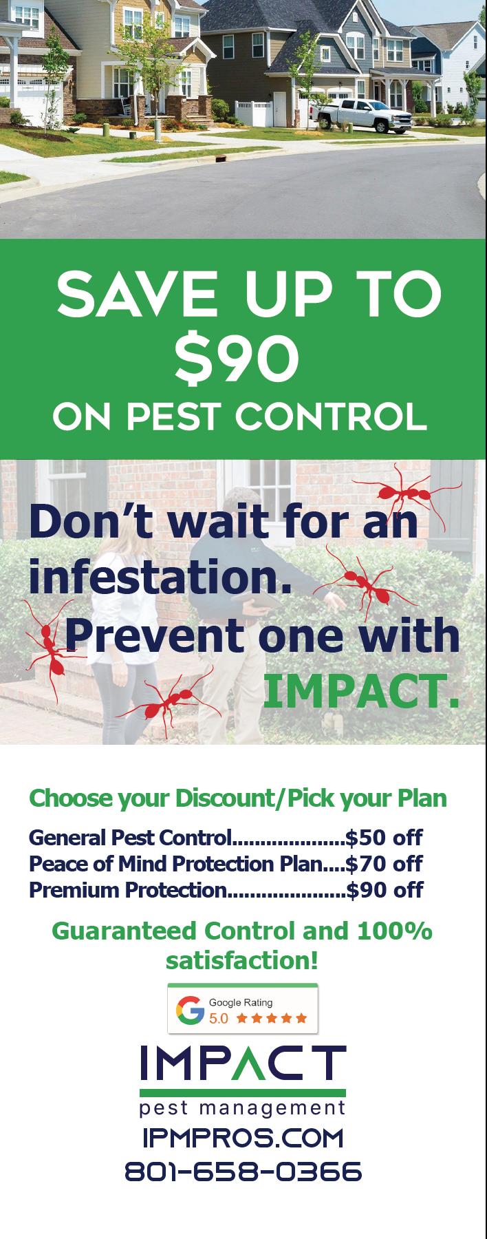 Impact Pest Management Door Hanger